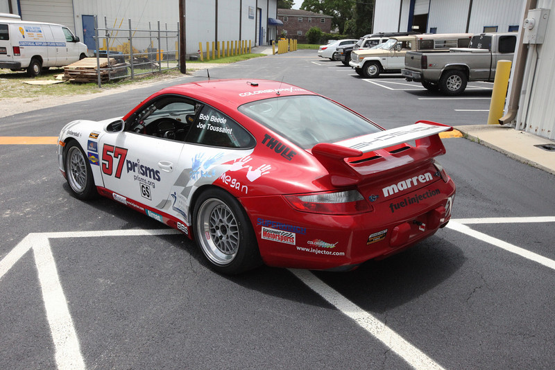 2005 Porsche 997 GS Race Car For Sale Rear