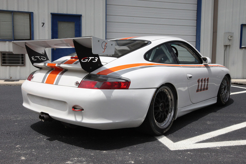 2004 Porsche 996 GT3 Carrera Cup For Sale Rear