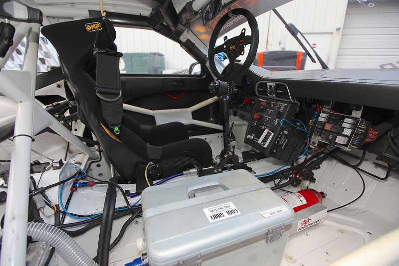 2009 Porsche GT3 Carrera Cup For Sale Interior
