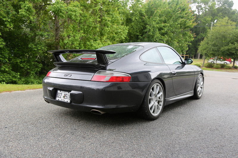 2004 Porsche GT3 Race Build Rear
