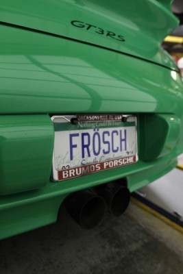 Porsche GT3 RS Frosch (The Frog)