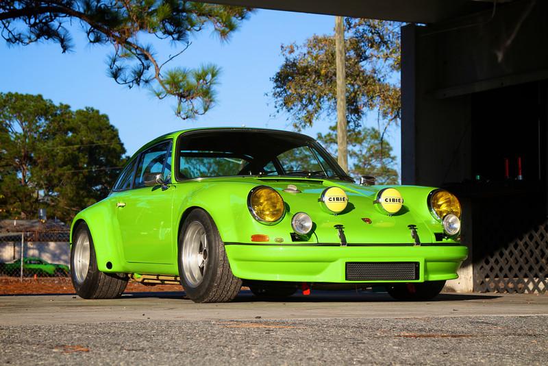 1968 Porsche 911 RSR Front
