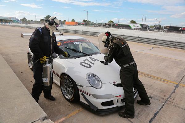 Laurent Verstreken Porsche 997 GT3 Carrera Cup