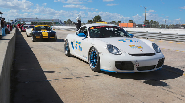 Jimmy Martin Porsche Cayman Race Car