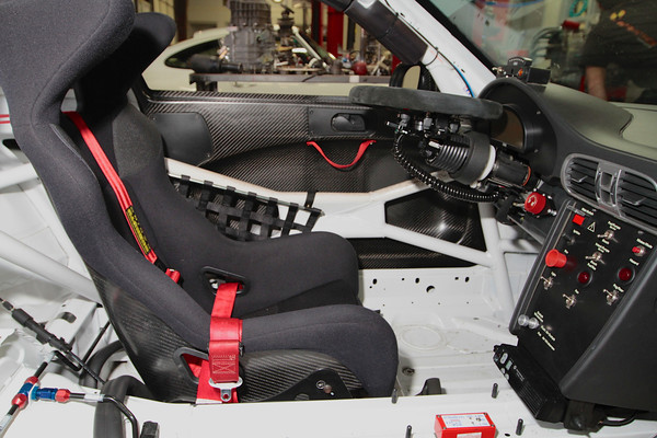 Porsche 997 GT3 Cup Paddle Shifter After Install