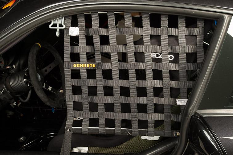 pca j class gt3 race car window net autometrics motorsports