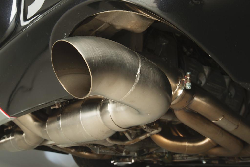 PCA J Class GT3 Race Car Exhaust
