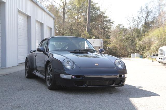 1996 Porsche 993 Turbo For Sale Front