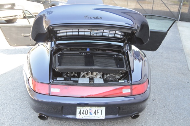 1996 Porsche 993 Turbo For Sale Engine