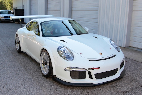 2015 Porsche 991 GT3 Carrera Cup For Sale Front