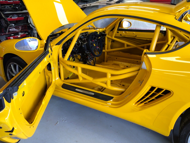 Race Car Roll Cage Paint