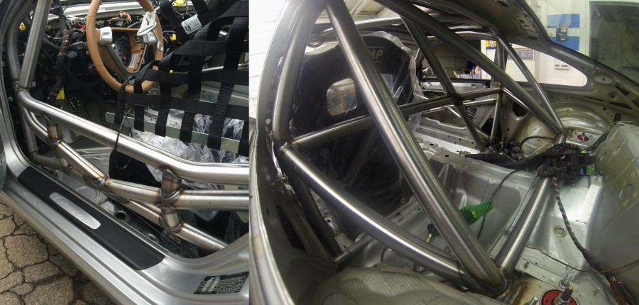 997 race car cage A