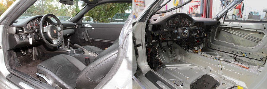 997 race car interior A