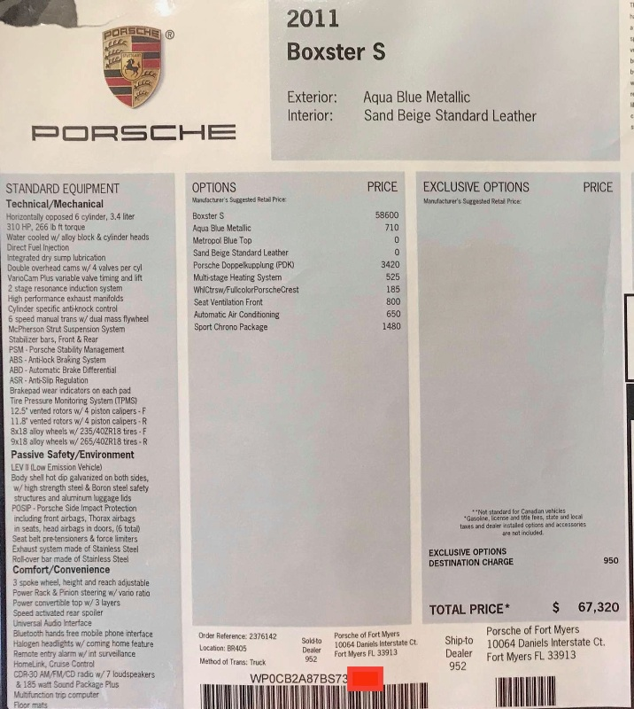 Boxster 987.2 PDK 2